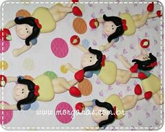 Porta doces branca de neve (Andria Morganas) Tags: biscuit casamento pinup urso nascimento maternidade lembrancinha