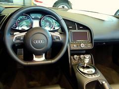 Audi R8 Spyder V10 FSI Interior (Chance Hales) Tags: spyder audi v10 r8 fsi