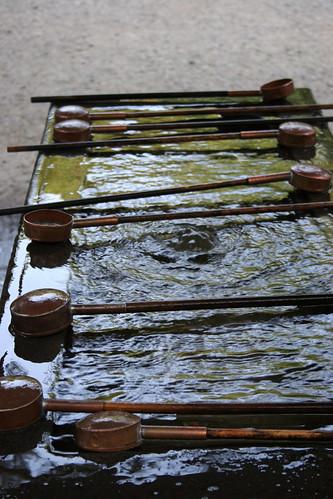 Ladles for Temizu, ritual washing