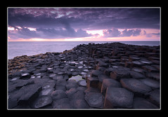 Giants Causeway (Lee Galashan) Tags: ocean county ireland canon reflections angle wide sigma atlantic giants 1020mm northern causeway antrim 40d dblringexcellence