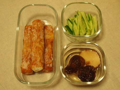 ちらし寿司の材料 chirashi-sushi