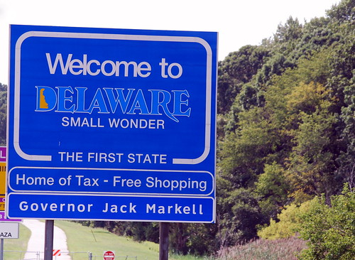 Weekend - Delaware Sign