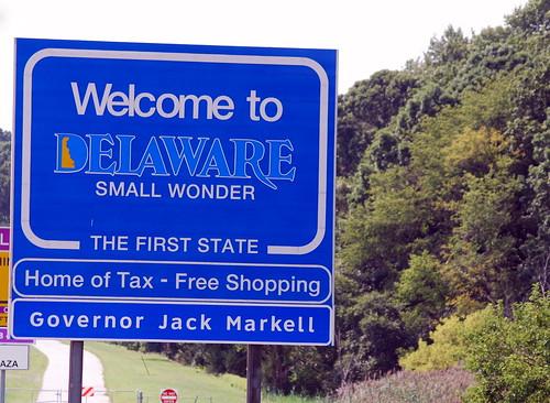 Weekend - Delaware Sign
