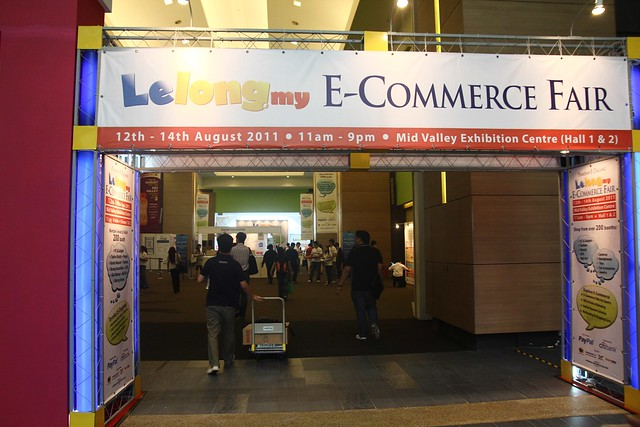 Lelong.my E-Commerce Fair 2011 At Mid Valley Exhibition Centre
