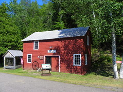 The Bammert Blacksmith Shop (J. Stephen Conn) Tags: mi michigan keweenawcounty