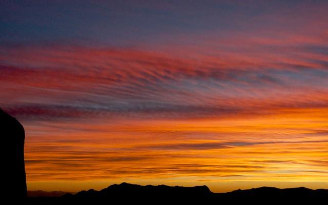 Guhyaloka sunset 1