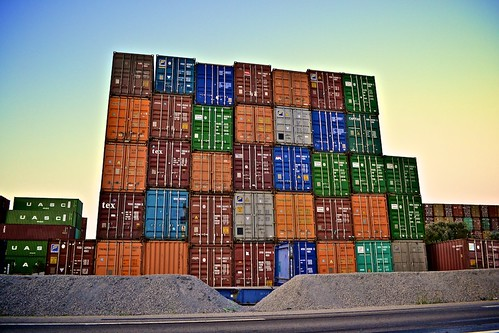 Containers Building by Tristan Taussac, on Flickr