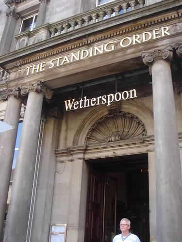 standing order edinburgh