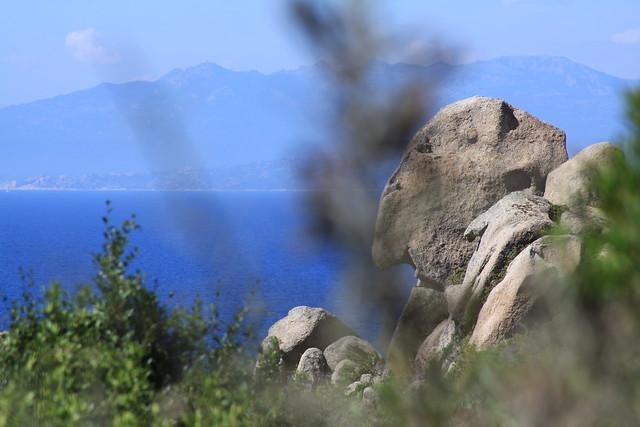 A mini-trek around Capo Testa led me to The Stone Face.