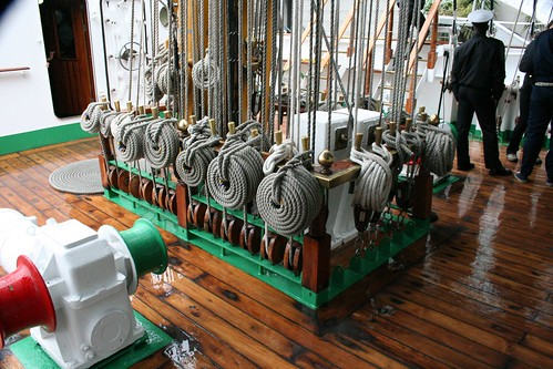 Ropes and pullys