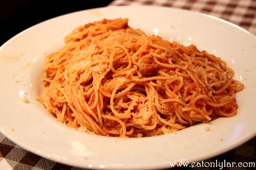 Spaghetti Bolognese, Café Minuet