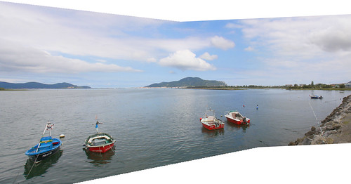 Colindres Panorama looking to Santoña