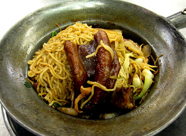 Braised Goose Feet Noodles