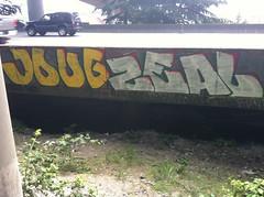 (Flick Lurkr) Tags: seattle graffiti arc zee 100 otl dbl zeal zeel joug jougs