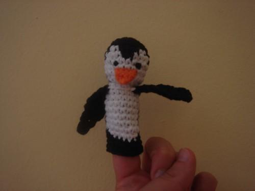Crochet Shark Finger Puppet | AllFreeCrochet.com | 375x500