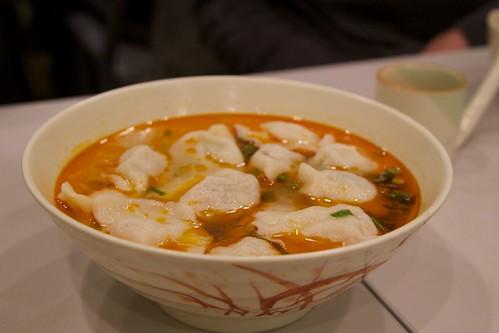 Chilli oil dumpling