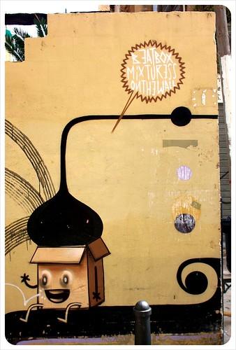 valencia street art corner