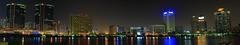 dubai creek | Bur Dubai (janmichael127) Tags: city panorama night canon michael dubai cityscape bur jan uae vincent castillo 450d pokleng