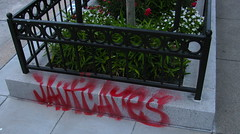 Jaut Cares (Oakland Stroke) Tags: graffiti san francisco jaut