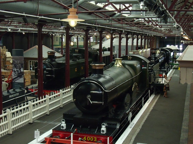 The mock railway station at Steam