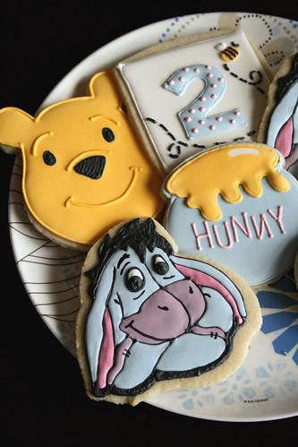 Pooh & Eeyore Cookies.