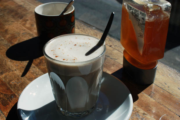 dandelion latte a