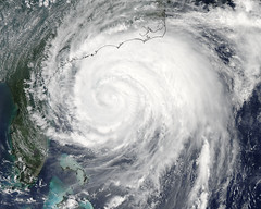 Irene Moving up U.S. East Coast [detail] (NASA Goddard Photo and Video) Tags: nasa irene goddard modis hurricaneirene