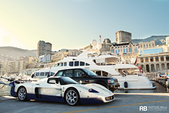 MC XII (Raphaël Belly Photography) Tags: blue white paris ice car port de french boats photography eos hotel riviera photographie yacht casino montecarlo monaco mc belly exotic 7d passion 12 raphael rb mc12 maserati spotting supercars raphaël hercule principality worldcars