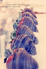 (NOURA - alshaya ) Tags: strawberries godiva cann noura flicrk nony       nouero