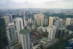 Orchard Area #1. (Reggie Wan) Tags: city building tourism architecture singapore asia southeastasia day cityscape aerialview orchardroad asiancity sonya700 sonyalpha700 reggiewan gettyimagessingaporeq1