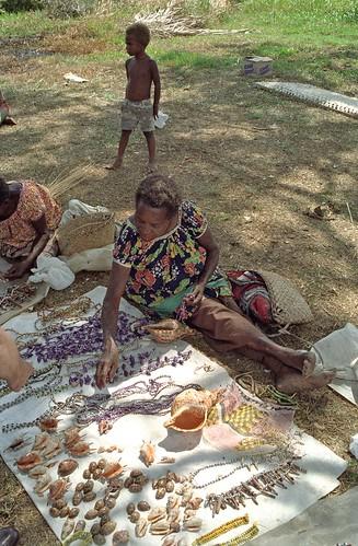 Rabaul vendors 1989
