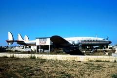 "(CS-TLC/""5T-TAF"") Lockheed L.1049G Super Constellation msn:4618 (DC-7C) Tags: plane airplane aircraft super malta aeroplane piston lockheed propeller prop airliner constellation l1049 luqa 4618 l1049g lmml kirkop cstlc 5ttaf"