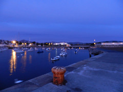 Sunrise in Bray harbour