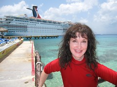 One happy girl... (prestonrittenhouse) Tags: love t boats dolphins loves i andilovet