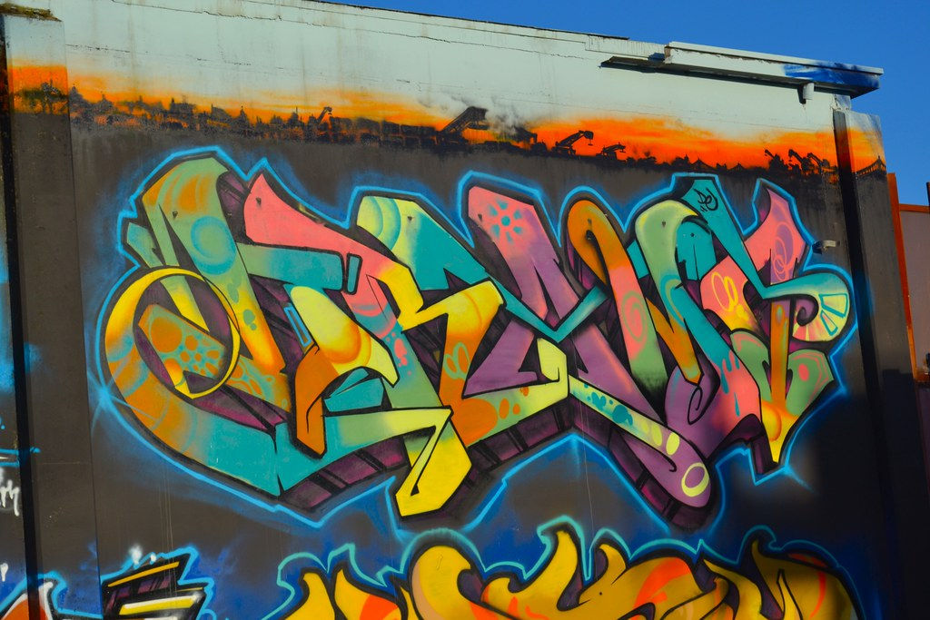 DRAMA, DE, Graffiti, Street Art, Oakland