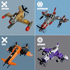 Sky Fighters Roundup 2 (Fredoichi) Tags: plane lego space military micro shooter shootemup skyfi shmup microscale dieselpunk skyfighter fredoichi