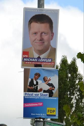 Wahlkampf Provinz
