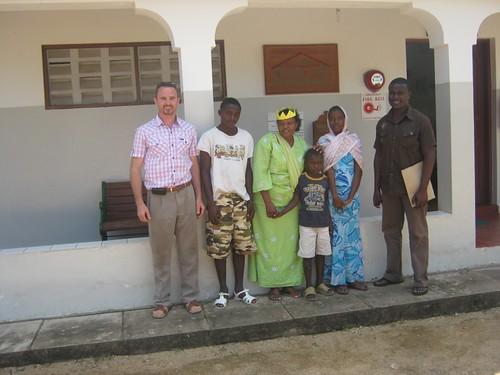 Mwaka and Kanoti arrive at the GLO