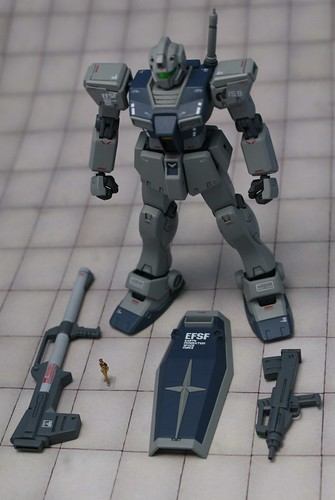 Gundam 0083- HGUC 1/144 - RGM-79C GM Type C - Completed - 0