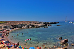 favignana - cala rotonda (cristianolamantia) Tags: sea beach island mare sicily spiaggia sicilia trapani isola favignana isoleegadi calarotonda canon550d aegadianisland