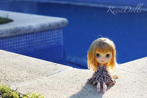 ¡Tenemos piscina! ¡Yay!!!!