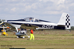 G-CCJI VAN'S RV-6 PFA 181A-13572 - 110828 - Little Gransden - Alan Gray - IMG_0833