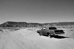 (Farlakes) Tags: arizona abandoned car desert wheels stolen wreck farlakes