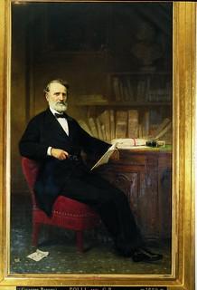 Giuseppe Bertini, Ritratto di Giovanni Battista Polli, 1888, ALPE, Quadreria