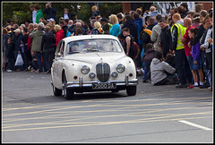 Jaguar MkII (Dune_UK) Tags: old uk travel england eye art cars sports look saint bike club liverpool vintage de joseph j volvo photo blog different photographer image phil sale sold parade lancashire read photograph frame wife latex jag motor jaguar fest seen circuit coupe dmc glynne pritchard merseyside scouser aintree ormskirk lorean 2011