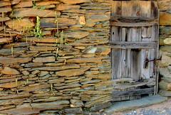 Muro e porta - Cegonhas (Amrico Meira) Tags: door muro portugal wall puerta du porta porte mur cegonhas beirabaixa challengeyouwinner