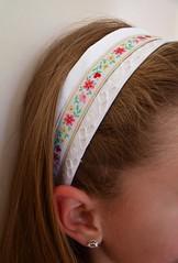 Ribbon and lace headband (*Mirre*) Tags: for handmade lace ribbon headbands hooray heatherbailey kisskus