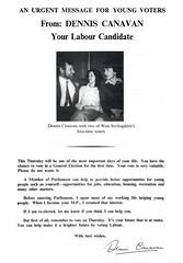 Labour General Election Leaflet, 1979 (Scottish Political Archive) Tags: party scotland election stirling scottish labour mp publicity campaign canavan