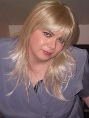 blue jacketskirt  blonde(22) (Jenni Makepeace) Tags: blue stockings tv dress skirt dressing tgirl jacket blonde transvestite heels service crossdresser shemale sophies businesswoman pvcjenni sophiesdressingservice jennimakepeace