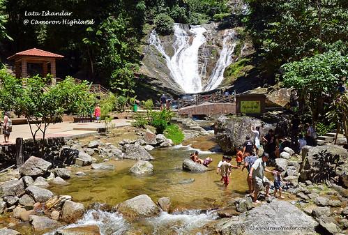 Lata Iskandar waterfall1